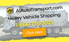 A1 Auto Transport - Heavy Vehicle Shipping - 866-775-3025