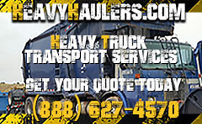 Heavy Haulers - Heavy Truck Transport Services - Get Your Quote Today - 888-627-4570