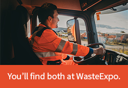 You'll find both at WasteExpo
