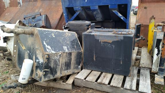 Fuel Tanks and Hydraulic Oil Tanks Available!