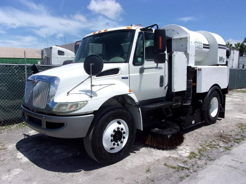 2010 International 500X Regenerative Sweeper