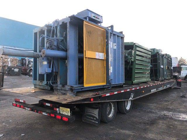 "Trailer Load Of Late Model 60"" Balers"