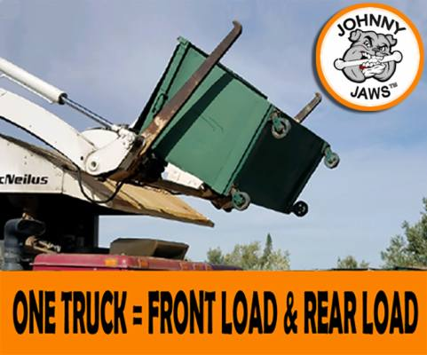 Dump Rear Load Containers with Your FRONT LOADER!