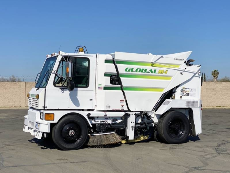 2013 Global M4 Mechanical Broom Street Sweeper