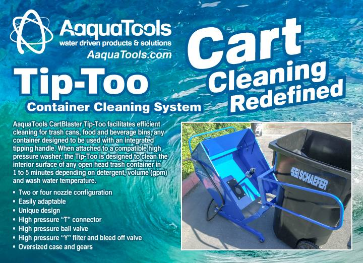 AAQUATOOLS - Makes Cart Cleaning EASY!