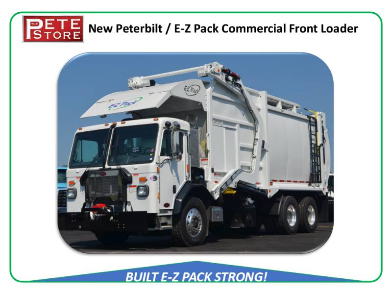 NEW 2020 Pete 520, 40 Yd E-Z Pack Front Loader