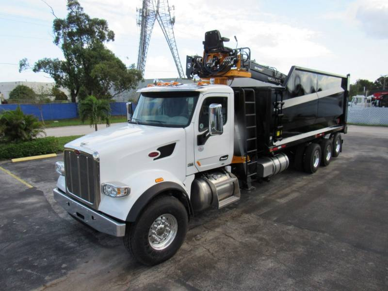 2020 Peterbilt 567 Grapple Truck Stock 672011