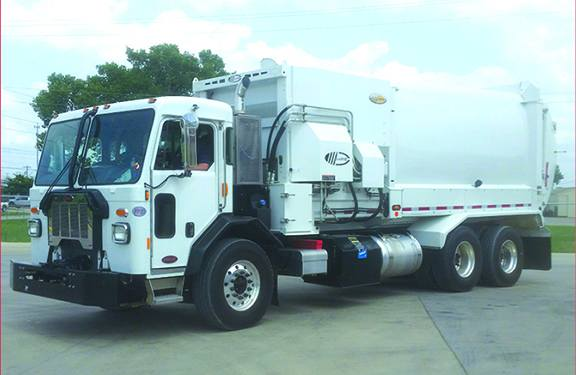 NEW! 2020 Peterbilt 520, 31 Yd Labrie Automizer